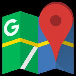pin στους google maps
